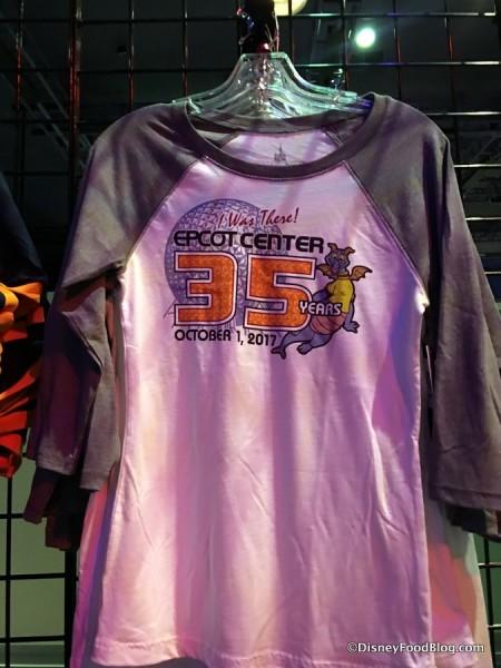 Epcot 35 Merchandise
