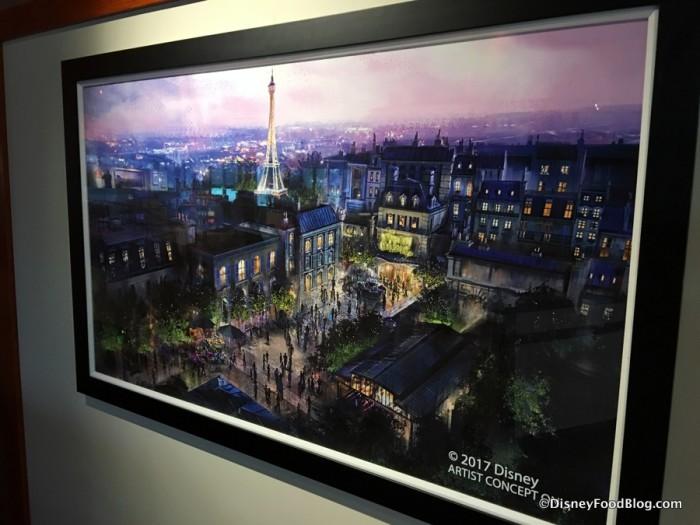 Concept Art for the future France Pavilion