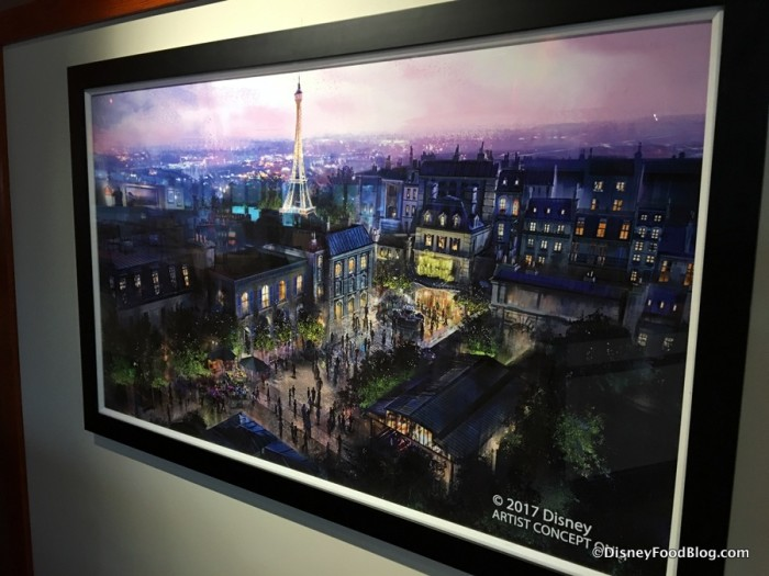 Concept Art for the future France Pavilion
