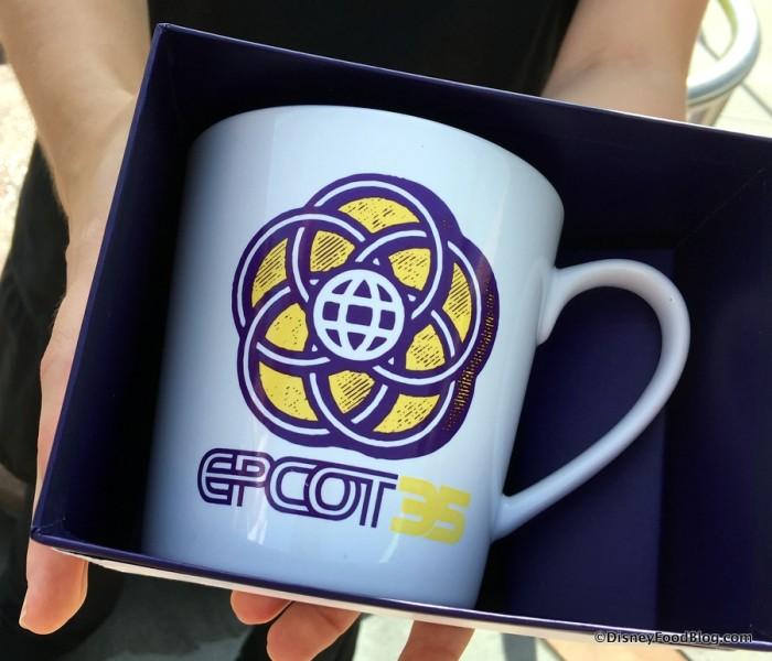 Epcot 35 Anniversary Starbucks Mug