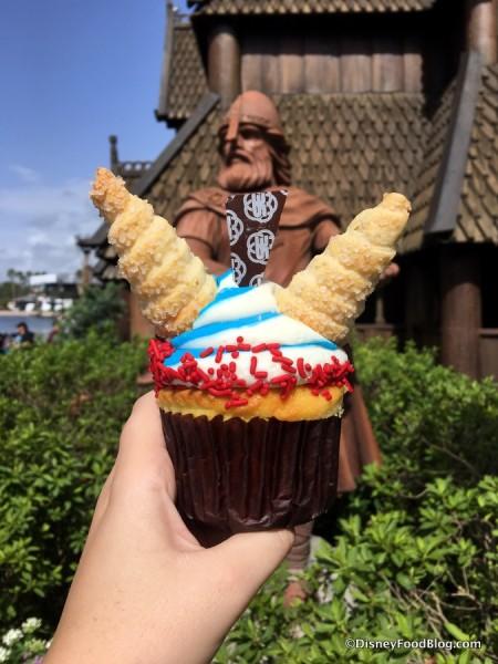 Viking Cupcake