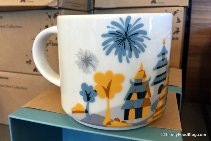 Spotted New Epcot Starbucks You Are Here Mugs And More