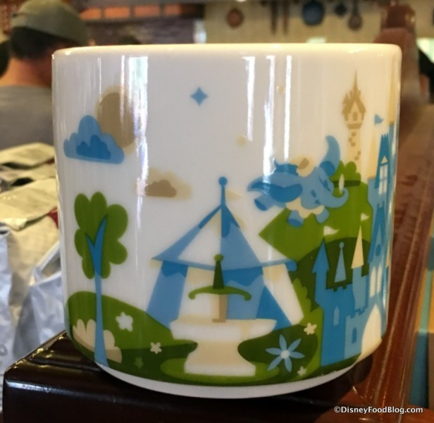 "New Magic Kingdom ""You Are Here"" Starbucks Mug"