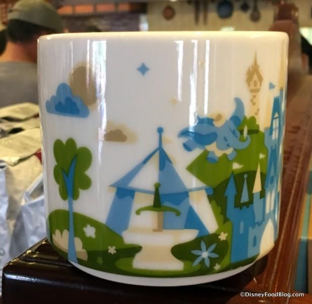 "New Magic Kingdom ""You Are Here"" Starbucks Mug"