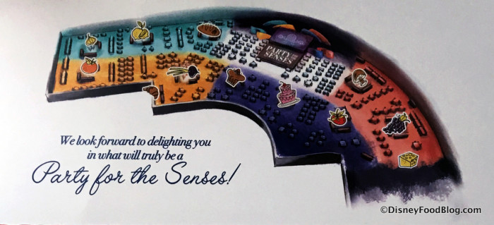 Party for the Senses Map