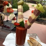 IN. SANE. Bloody Marys at Phins in Walt Disney World's Dolphin Hotel