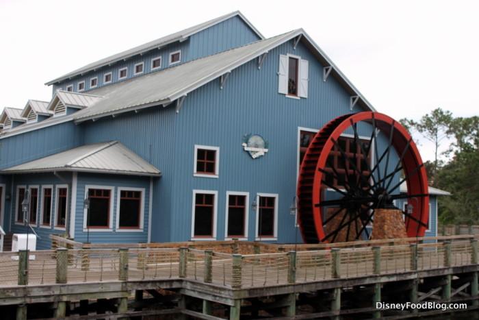 Water Wheel Runs the Mill