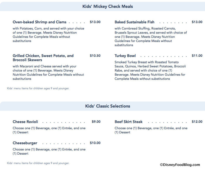 Disney World website screenshot