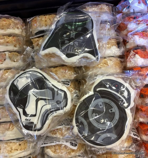 New Star Wars Krispy Treats