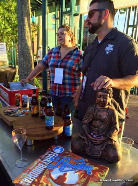 Funky Buddha Brewery Stand