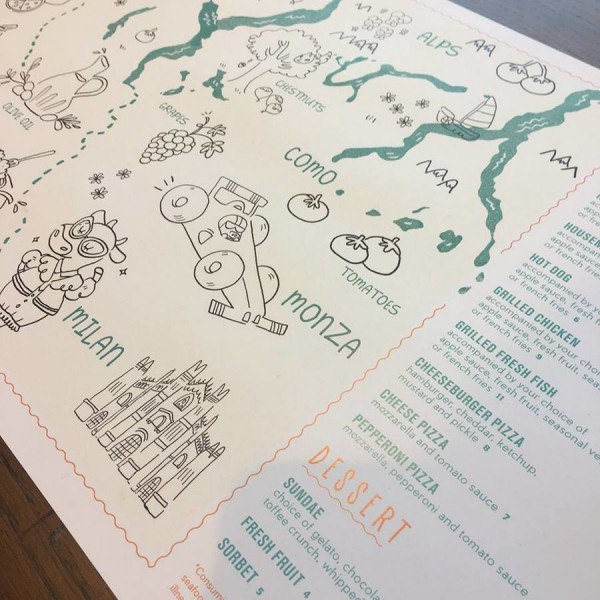 Kids' Menu ©Terralina Crafted Italian
