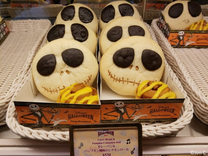 Super cool Jack Skellington food!