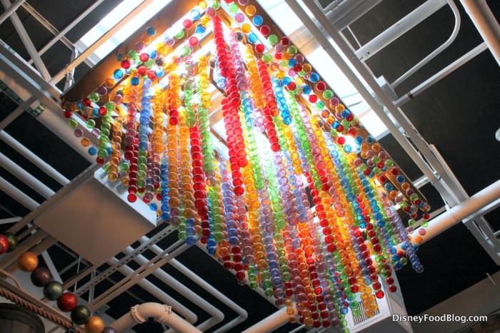 More glass bottle art