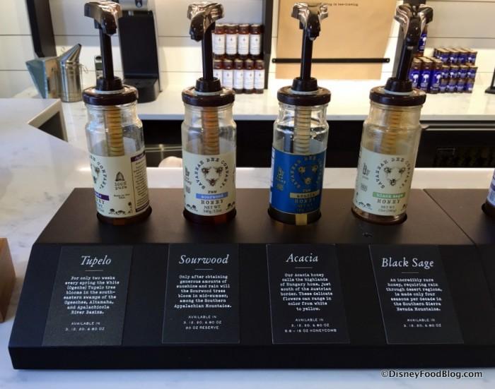 Sample Honey Bottles