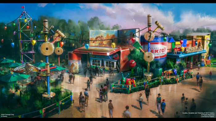 Woody's Lunch Box Concept Art©Disney