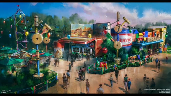 Woody's Lunch Box Concept Art©Disney