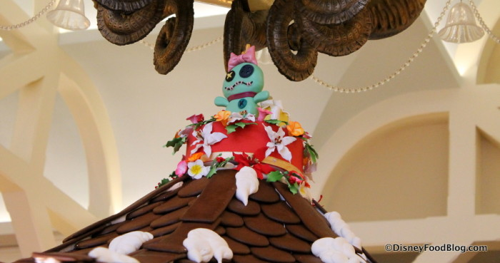 Top of the Gingerbread Carousel