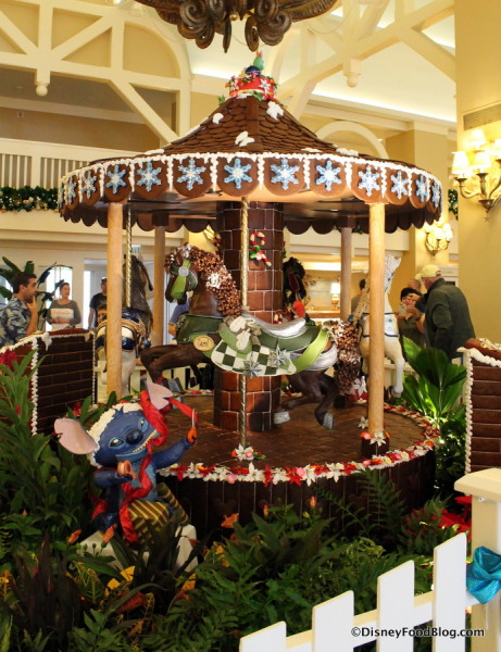 2017 Beach Club Gingerbread Carousel