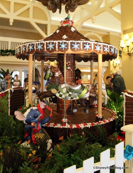 2017 Beach Club Gingerbread Carousel
