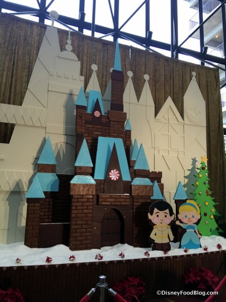 2017 Contemporary Resort Gingerbread Display