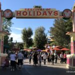 MENUS for the 2018 Disneyland Resort Festival of Holidays at Disney California Adventure!