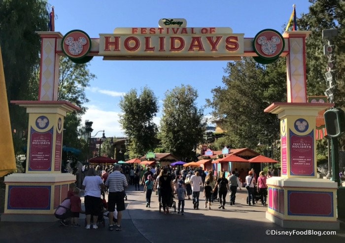 Festival of Holidays at Disney California Adventure