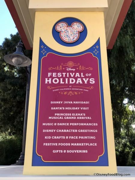 Festival of Holidays Entertainment Banner