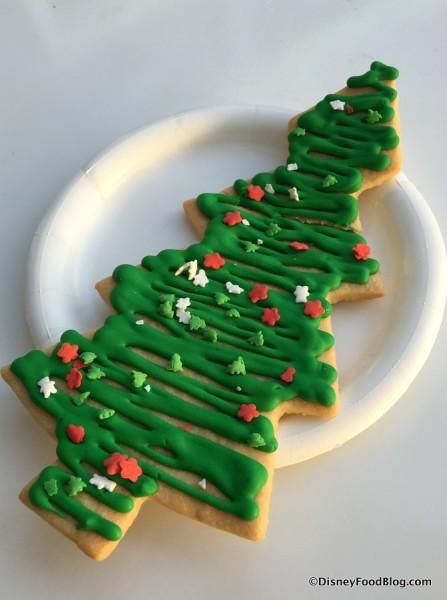 Holiday Tree Sugar Cookie