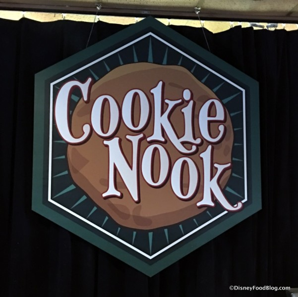 Cookie Nook sign
