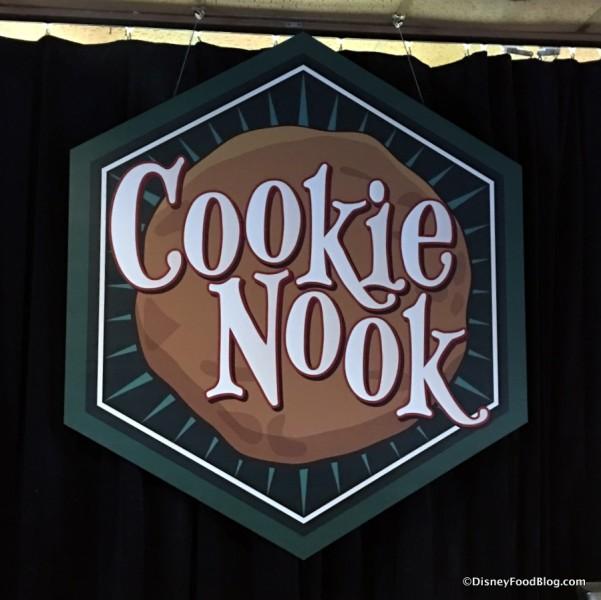 Cookie Nook sign