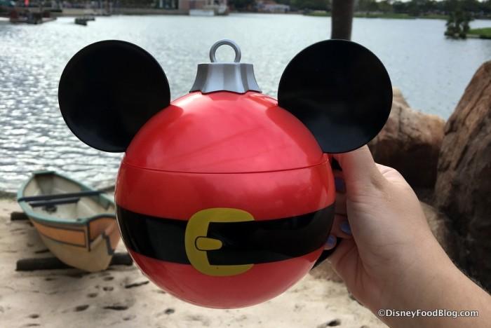 Mickey Ornament Stein