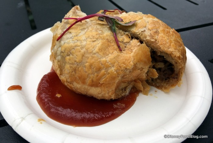 Canadian Tourtiere with Canadian Ketchup
