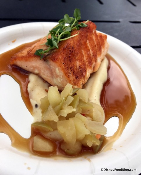 Seared Salmon with Crown Royal Whiskey Glaze