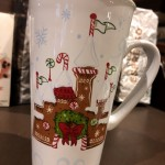 "Spotted: Starbucks 2017 Holiday Disney Parks Mug and Magic Kingdom ""You Are Here"" Mug Ornament"