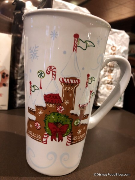 2017 Holiday Starbucks Disney Parks Mug