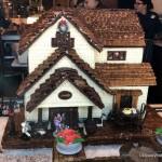 Gingerbread Display Seasonal Wine Slushie (!!) at Amorette's Patisserie in Disney Springs