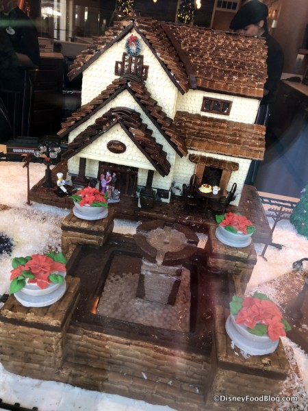 Gingerbread Display at Amorette's Patisserie from 2017