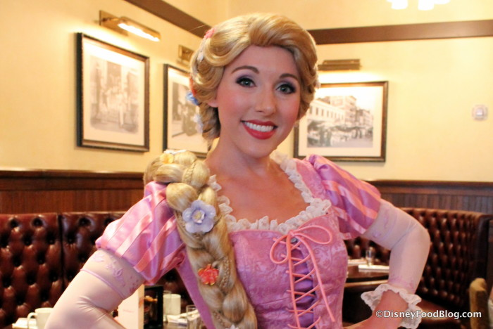 Meeting Rapunzel is part of the fun!