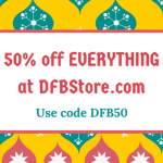 DFB Cyber Monday Sale – Get 50% off Everything in the DFB Store TODAY ONLY!