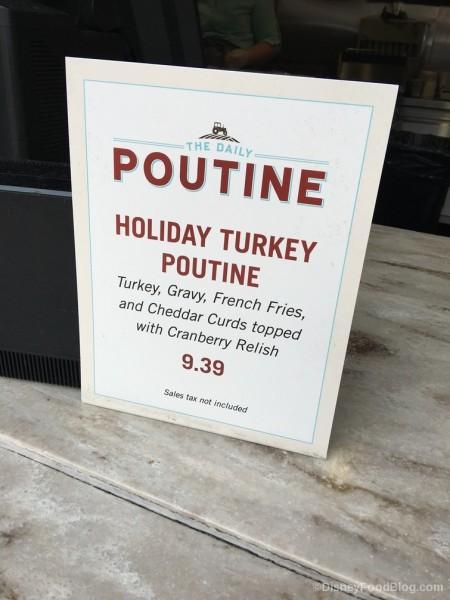 Holiday Turkey Poutine