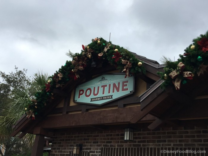 Daily Poutine Holiday Vibes