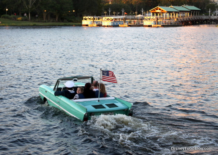 Ride an Amphicar on the Water
