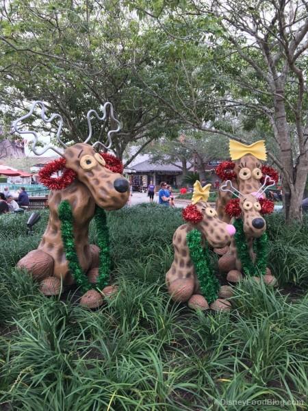 Holiday Decor at Disney Springs