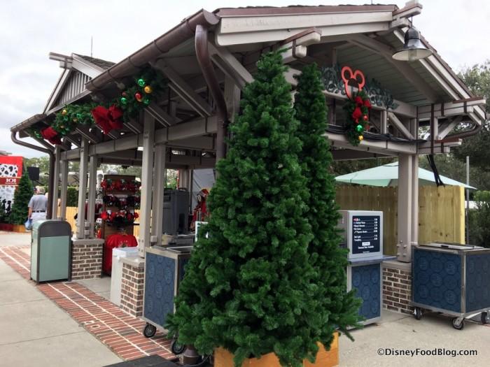 Snacks on the Christmas Tree Trail