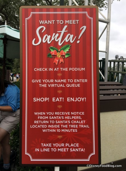 Meet Santa in Disney Springs