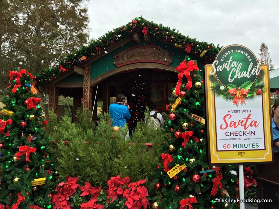 christmas tree trail santas chalet