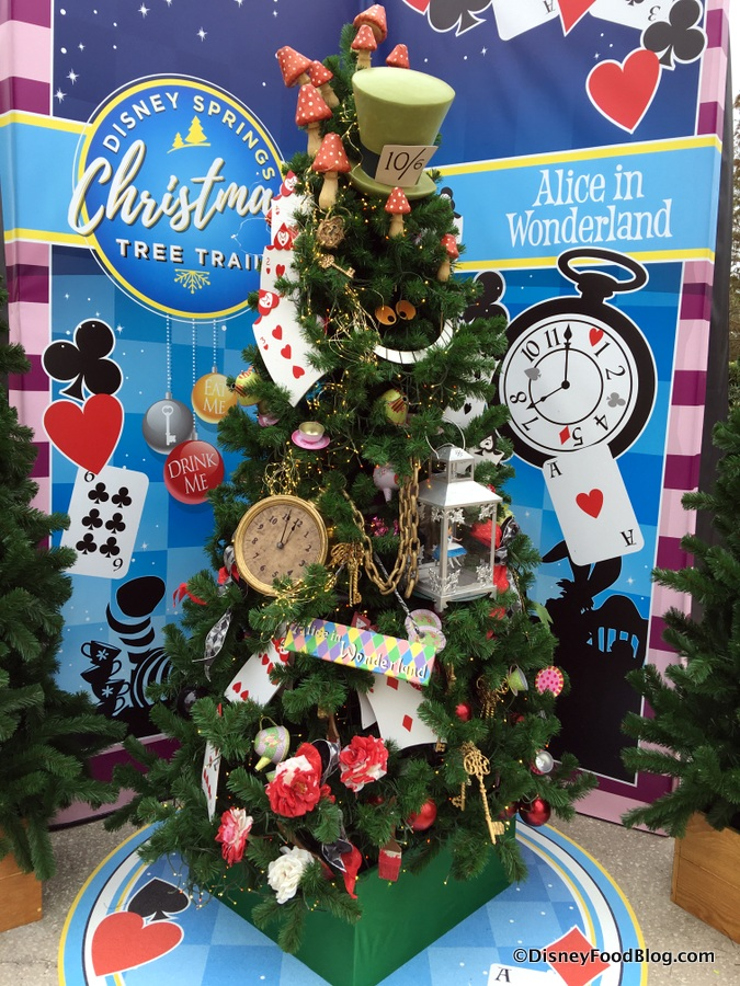 alice in wonderland tree - Disney Christmas Tree