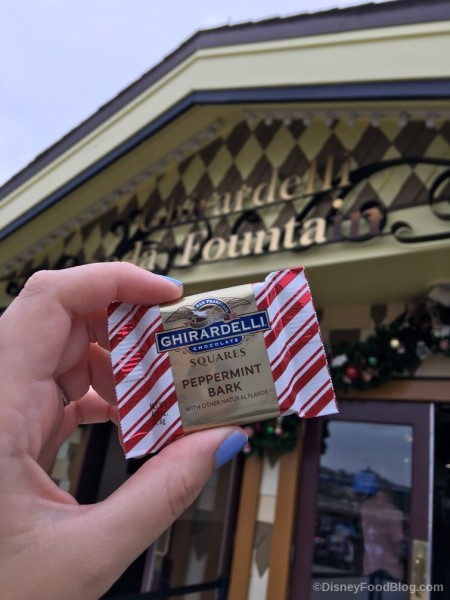 Ghirardelli's Cjocolate Square in Disney Springs