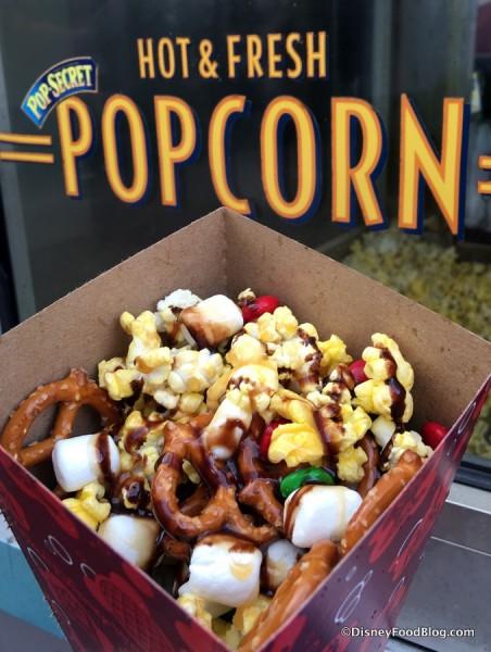 Festive Holiday Popcorn
