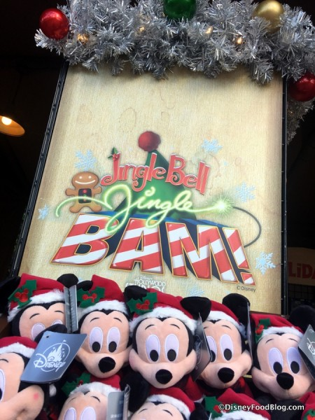 Jingle Bell, Jingle BAM! sign
